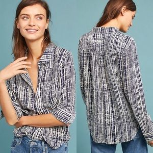 Anthro Holding Horses Sammie Button Down Blouse
